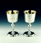 Silver communion cups of Tron Parish Church, Glasgow
