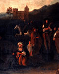 Painting (detail), 'The village dance' or 'Lowland wedding'
