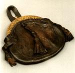 Sporran, made of calfskin