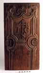 Panel of carved wood