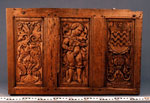 Panel of carved oak
