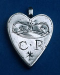 Locket associated with Charles I