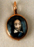 Locket, associated with Charles I