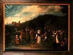 Painting, 'The village dance' or 'Lowland wedding'