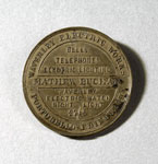 Advertising token (obverse), of Waverley Electric Works, Portobello, Edinburgh