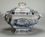 Earthenware soup tureen