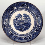 Plate, made at Kirkcaldy, Fife
