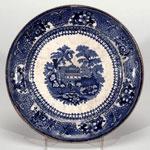 Plate, made at Kirkcaldy, Fife