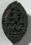 Seal matrix, of Dominican Friary, Edinburgh