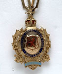 Badge of the President of the Society of Inspectors of the Poor