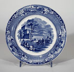 Plate, commemorating 1851 Great Exhibition