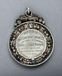 Silver medal (reverse) of the Royal High School, Edinburgh