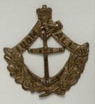 Brass badge of the Independent United Order of Mariners