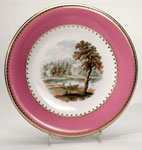 Porcelain cake stand or comport