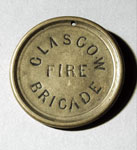 Badge, of City of Glasgow Fire Brigade