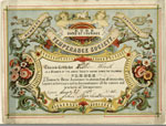 Certificate, of Band of Courage Temperance Society