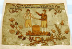Silk banner of the Midlothian Brotherly Society
