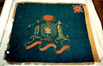Silk banner of the Turriff Shoemaker's Society