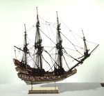 Church-ship model, associated with James VI (I of England)