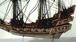 Church-ship model (Detail), associated with James VI (I of England)