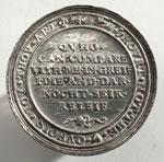 Silver medal (reverse) of Arabella Stewart