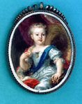 Miniature, probably of Prince Charles Edward Stewart