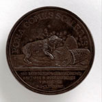 Medal (reverse) commemorating the offering of the Crown to William of Orange