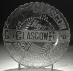 Souvenir dish from the Glasgow International Exhibition