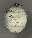 Medal or badge (Obverse), of Edinburgh Skating Society
