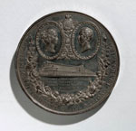 Medal (obverse) commemorating the Great Exhibition