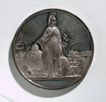 Medal (reverse) commemorating the Great Exhibition
