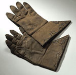 Gloves worn by John Graham, Viscount Dundee