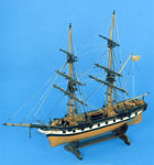 Model of a merchant brig, the 'Mary'