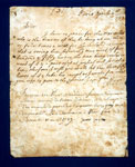 Letter written by John Erskine, 11th Earl of Mar