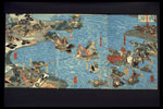 Colour woodblock print, ukiyo-e