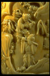 Ivory snuff bottle (detail)