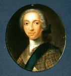 Miniature of Prince Charles Edward Stewart