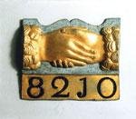 Firemark of the Friendly Society of Edinburgh