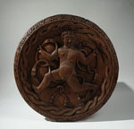 Ceiling medallion, one of 'Stirling heads'