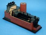 Model of a Lancashire boiler
