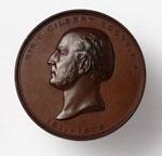 Medal (Obverse), commemorating Sir George Gilbert Scott