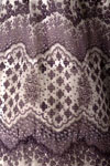 Detail of woman's dress of cotton muslin