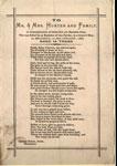 Poem in memory of John Hunter