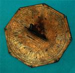 Copper sundial