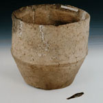 Ceramic urn and a bronze blade