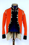 Officer's jacket of the Royal Glasgow Volunteers
