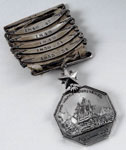 Medal, awarded to Dr John Rae