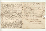 Letter (back), written by Sir David Wilkie