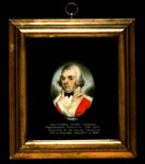 Miniature portrait, of Lieutenant Landers, Breadalbane Fencibles