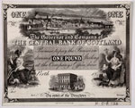 Banknote (proof), of Central Bank of Scotland